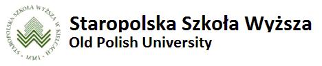 Staropolska Szkoła Wyższa Old Polish University - Gospodarka Przestrzenna Rolnictwo