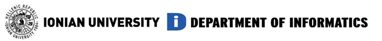 Department of Informatics - Ionian University