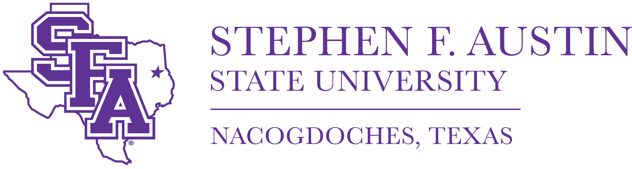 Image result for stephen f austin university logo