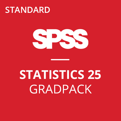 IBM® SPSS® Statistics Standard GradPack 25 for Windows and Mac </br> (12-Mo Rental)