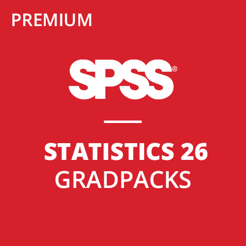IBM® SPSS® Statistics Premium GradPack 26 for Windows and Mac </br> (12-Mo Rental)