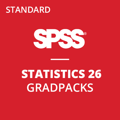 IBM® SPSS® Statistics Standard GradPack 26 for Windows and Mac </br>(12-Mo Rental)