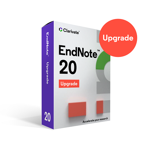EndNote 20 Multiplatform (Upgrade) - All Academic Users