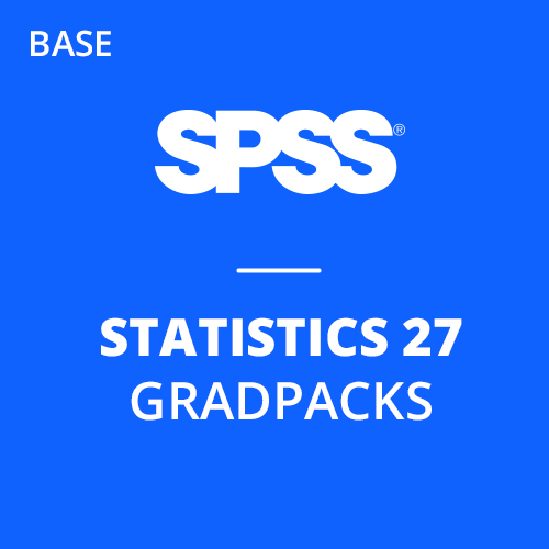 IBM® SPSS® Statistics Base GradPack 27 for Windows and Mac (12-Mo Rental)