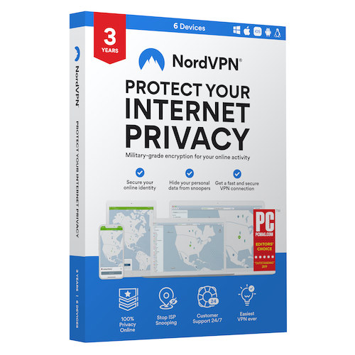 NordVPN VPN Service (3-Year subscription)
