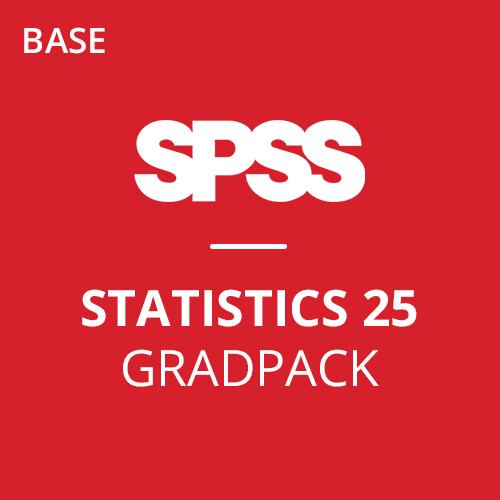 IBM® SPSS® Statistics Base GradPack 25 for Mac (06-Mo Rental)