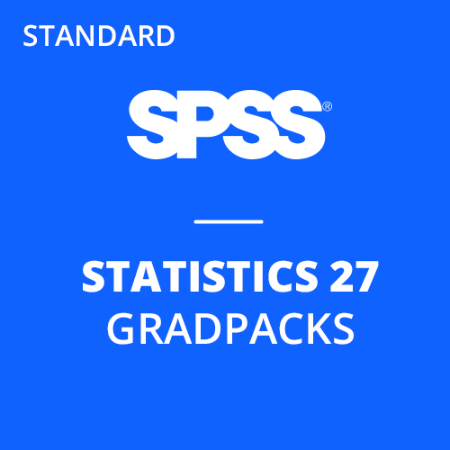 IBM® SPSS® Statistics Standard GradPack 27 for Windows and Mac </br> (12-Mo Rental)