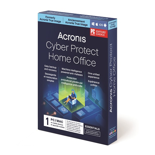Acronis Cyber Protect Home Office Essentials Subscription - 1 Computer (1-Year subscription)