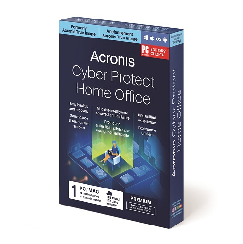 Acronis Cyber Protect Home Office Premium Subscription - 1 Computer + 1 TB Acronis Cloud Storage (1-