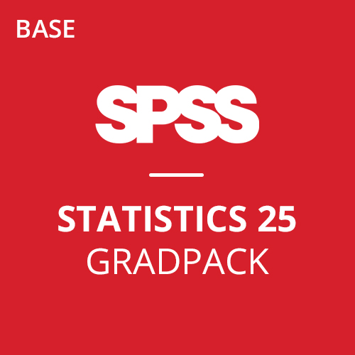 IBM® SPSS® Statistics Base GradPack 25 for Windows (12-Mo Rental)
