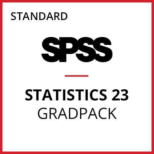 IBM® SPSS® Statistics Standard GradPack 23 for Windows and Mac </br>(06-Mo Rental)