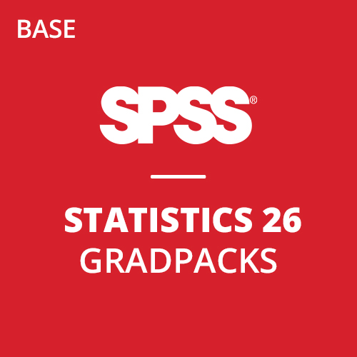 IBM® SPSS® Statistics Base GradPack 26 for Windows and Mac (12-Mo Rental)