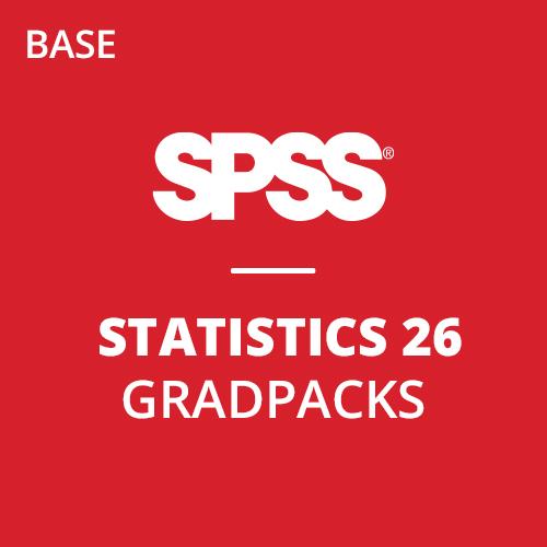 IBM® SPSS® Statistics Base GradPack 26 for Windows and Mac (12-Mo Rental)