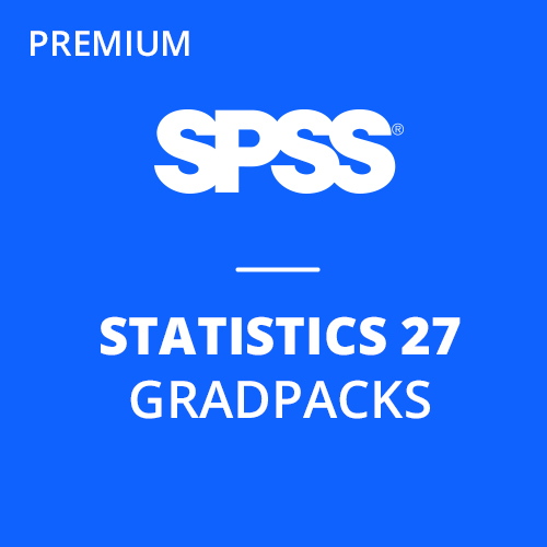 IBM® SPSS® Statistics Premium GradPack 27 for Windows and Mac </br>(12-Mo Rental)