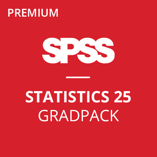 IBM® SPSS® Statistics Premium GradPack 25 for Windows and Mac </br> (12-Mo Rental)