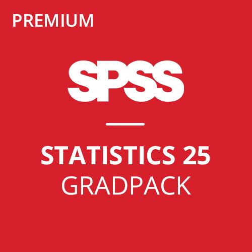 IBM® SPSS® Statistics Premium GradPack 25 for Windows and Mac </br> (12-Mo Rental)