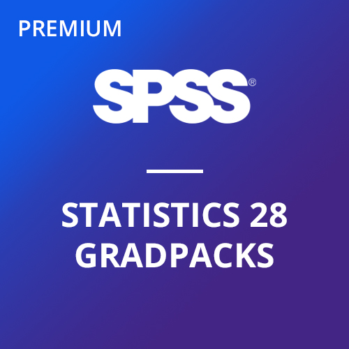 IBM® SPSS® Statistics Premium GradPack 28 for Windows and Mac </br>(12-Mo Rental)