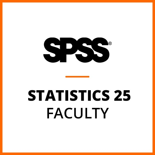 IBM® SPSS® Statistics Faculty Pack 25 for Windows and Mac (12-Mo Rental)