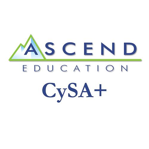 Ascend Training Series: CySA+ (CS0-002) (English)  - (12-Mo Subscription)
