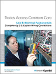 BC Campus - Line E Electrical Fundamentals Competency E-3 Explain Wiring Connections, 1st Edition - Small product image