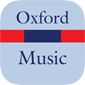 Oxford Dictionary of Music - Small product image