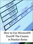 OER Books - How to Use Microsoft Excel The Careers in Practice Series - Small product image