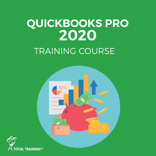 Total Training QuickBooks Pro 2020 - Complete Training (6-Month Subscription)