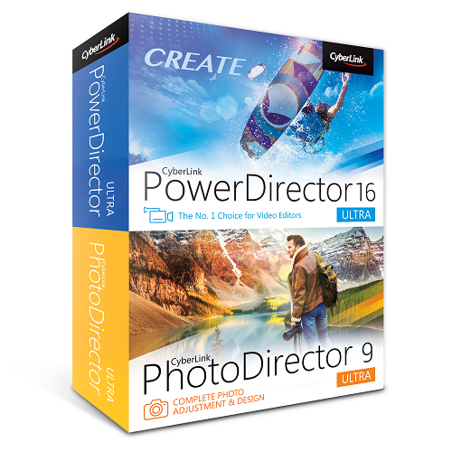 CyberLink PowerDirector 16 Ultra & PhotoDirector 9 Ultra Combo