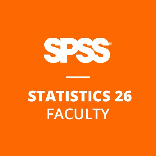 IBM® SPSS® Statistics Faculty Pack 26 for Windows and Mac (12-Mo Rental)