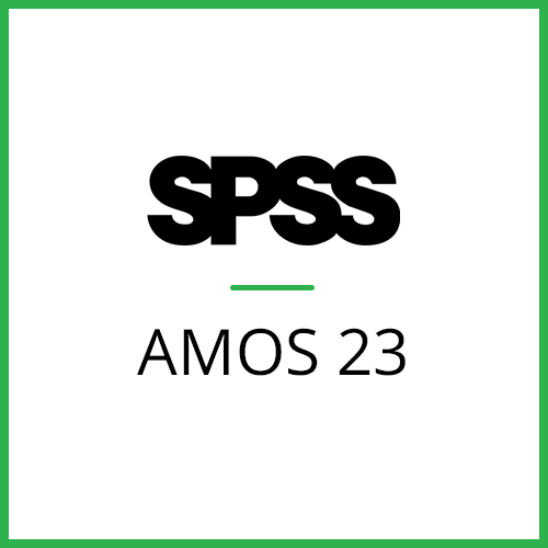 IBM® SPSS® Amos GradPack 23 for Windows (12-Mo Rental)