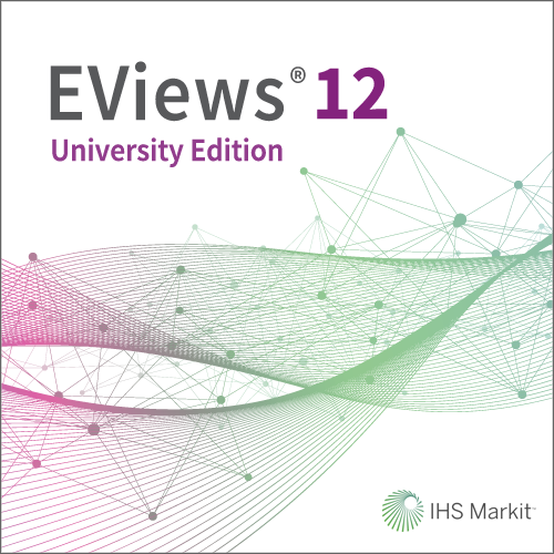 EViews 12 University Edition for Windows/Mac - Catalina and newer (6-Month Subscription)