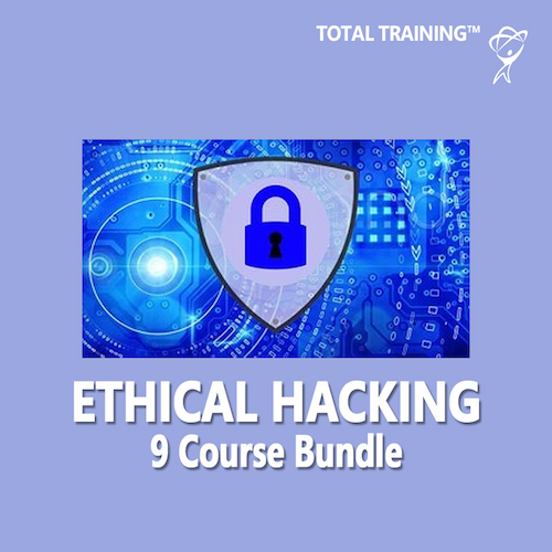 Total Training 9 Course Ethical Hacking Bundle (Cyber Security) (6-Month Subscription)