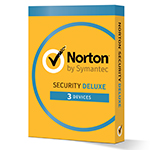 Norton Security Deluxe (1 year, 3 devices) - Imagem pequena do produto