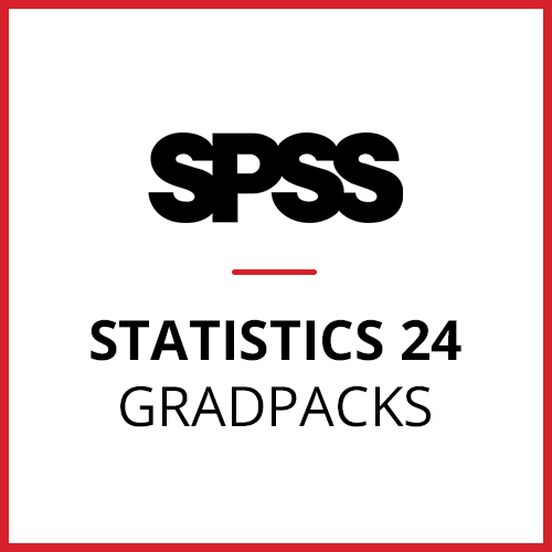 IBM® SPSS® Statistics Premium GradPack 24 for Windows and Mac </br> (12-Mo Rental)