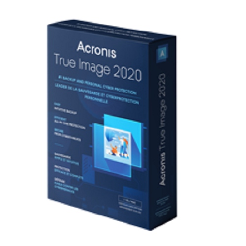 Acronis True Image Premium Cybersecurity 2020</br> 1 Computer + 1 TB Cloud Storage (1-year subscription)