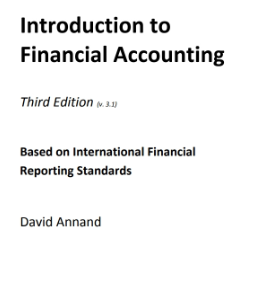 BC Campus - Introduction to Financial Accounting, Third Edition