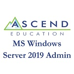 Ascend Education: MS Windows Server 2019 Admin - Small product image