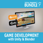 Total Training Game Development with Unity & Blender - Small product image