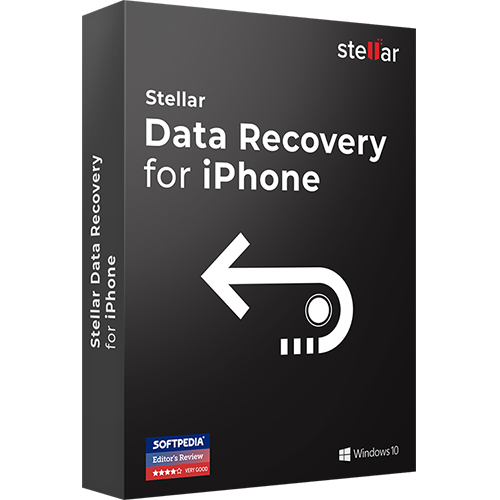 Stellar Data Recovery for iPhone - 1 Year License for Windows