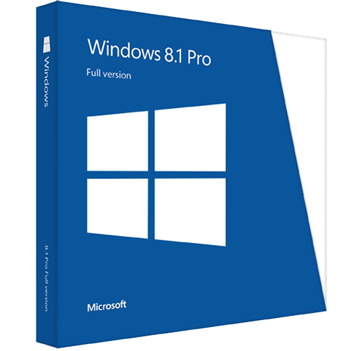 Microsoft Windows 8.1 Professional Upgrade 32/64-bit (Multilanguage) (Work At Home)