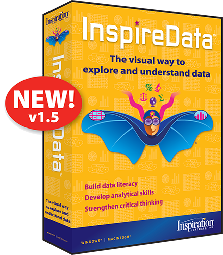 InspireData 1.5 for Windows (Student Edition)