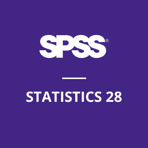 IBM® SPSS® Statistics Standard 28 (Windows) - Single Machine License