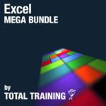 Total Training for Microsoft Excel Mega Bundle - Kleine Produktabbildung