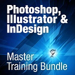 Total Training PhotoShop, Illustrator, InDesign Master - Immagine piccola del prodotto