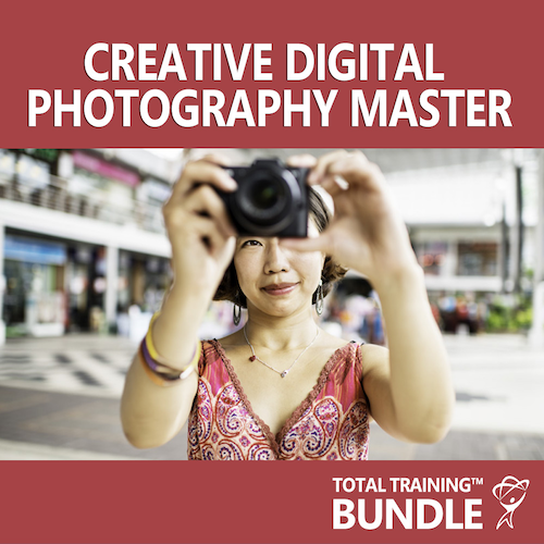 Total Training Creative Digital Photography Master Bundle (6-Month Subscription)