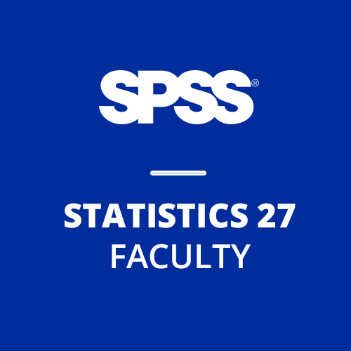 IBM® SPSS® Statistics Faculty Pack 27 for Windows and Mac (12-Mo Rental)