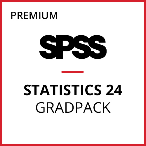 IBM® SPSS® Statistics Premium GradPack 24 for Windows (12-Mo Rental)