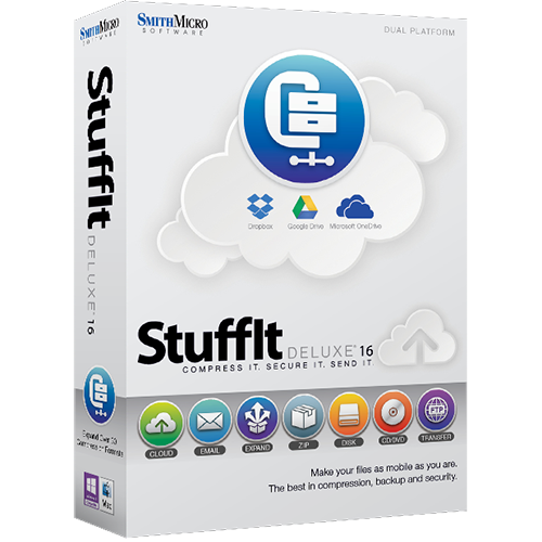 StuffIt Deluxe 16 (English)