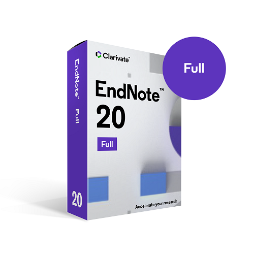 EndNote 20 Multiplatform (Perpetual) - Faculty/Staff